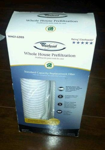 Whirlpool Whkf-gd05 Whole House Prefiltration Standard Capacity Filter
