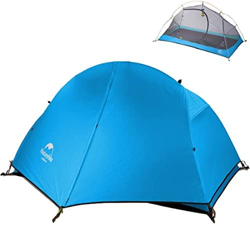 TRIWONDER 1 Person 3 Season Backpacking Tent Camping Tent Lightweight Waterproof Double Layer for Camping Hiking Travel