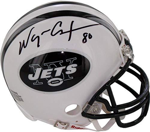 Wayne Chrebet New York Jets Signed Mini Helmet - Steiner Sports Certified - Autographed NFL Mini Helmets