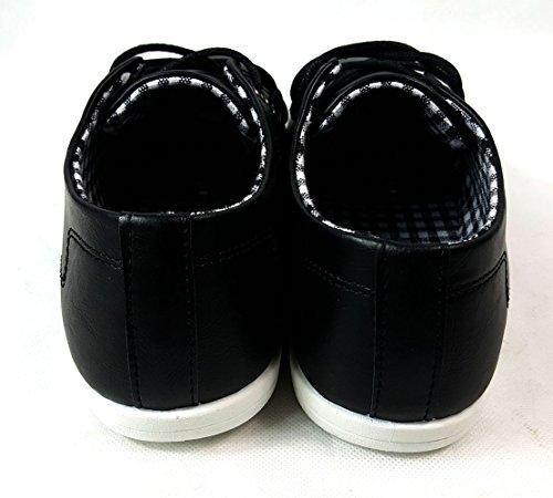 negro 2 2 Para Up 2017 formal 2017 sintética Smart 10 piel hombre Casual sintética Zapatos Lace piel EEaOqwg4