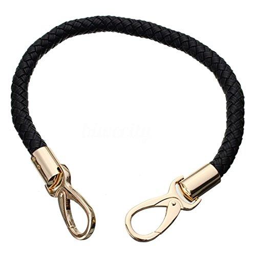 - TOOGOO(R) Round DIY Purse Handle Shoulder Bags Handbag Strap Rope Replacement, Black