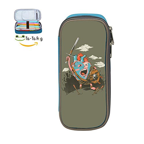 Heart Warrior Big Capacity Canvas Mobile Phone Case Portable For Boy - Vlz Bag