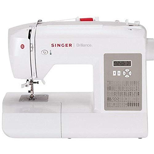 SINGER | Brilliance 6180 Portable Sewing Machine with Easy Threading and Free Arm