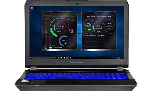 "Eluktronics P650HP6 15.6"" FHD 1080p IPS Graphic Design Laptop PC - Intel i7-7700HQ Quad Core Windows 10 Home 6GB GDDR5 NVIDIA GeForce GTX 1060 VR Ready 256GB SSD + 1TB HDD 16GB DDR4 RAM"