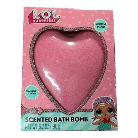 L.O.L Surprise! Scented Bath Bomb Fizzies with surprise inside! - COTTON CANDY