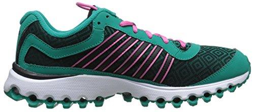 Women's Pattern Dynasty Shocking Pink Swiss Cross Tubes 151 Green K Shoe Training 5Z6wAqCx