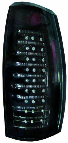 - IPCW LEDT-360CB Bermuda Black Fiber Optic and LED Tail Lamp - Pair