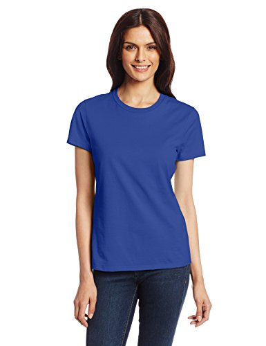 Hanes Women's Nano T-Shirt, Small, Deep Royal