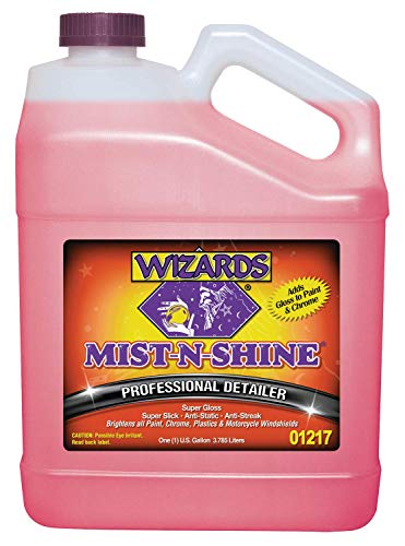 Wizards Mist-N-Shine Detailer_ High Gloss Car Detailing, Surface Cleaner Spray 1 ()