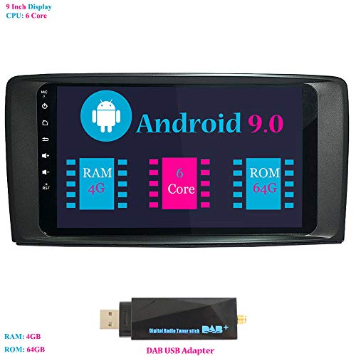 Android 9.0 Car Stereo, Hi-azul In-dash 9 Inch Car: Amazon.co.uk: Electronics