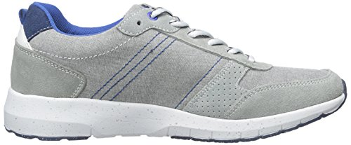 Kenneth Cole Reaction Hombres High Roller Fashion Sneaker Light Grey