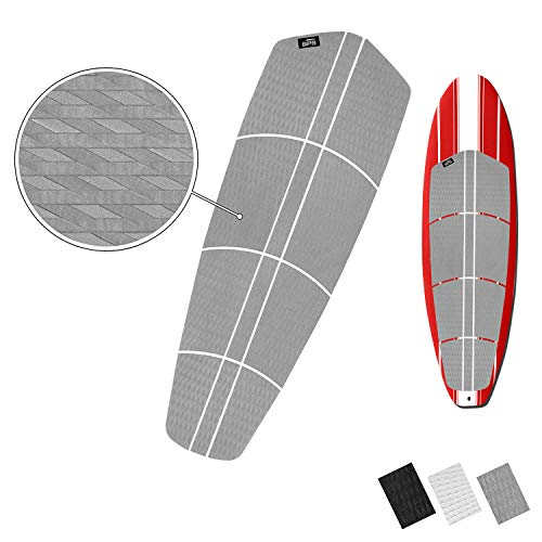 - BPS 12-Piece EVA Sheet Grip Pad with 3M Adhesives - for SUP Board, Longboard, and Surfboard (Cool Grey)