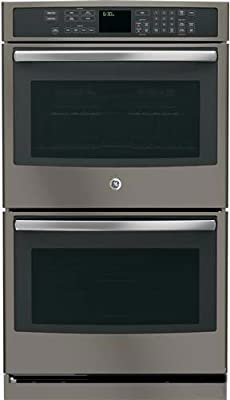 "GE Profile PT7550EHES 30"" Double Electric Wall Oven in Grey"