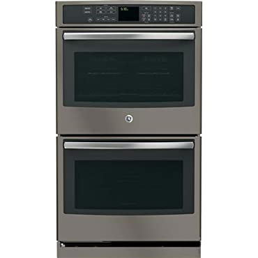 GE Profile PT7550EHES 30 Double Electric Wall Oven in Grey