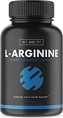 L-Arginine Supplement for Muscle Growth, Endurance, and Energy - Support Nitric Oxide Production and Cardio Health - Extra Strength N.O. Booster with AAKG, L-Citrulline Malate, Beta Alanine