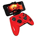 Apple Certified Mad Catz Micro C.T.R.L.i Mobile Gamepad and Game Controller Mfi Made for Apple TV, iPhone, and iPad - Red