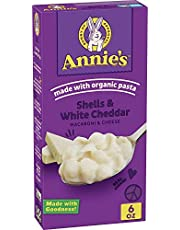 Annie's Shells & White Cheddar Macaroni and Cheese 6 oz (Pack of 12)