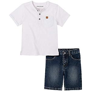 Best Epic Trends 41f308BjlyL._SS300_ Calvin Klein boys 2 Pieces Shorts Set