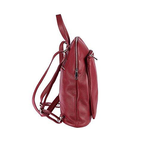 Cm Italyshop24 Daypack com 37x29x11 Dark bxhxt Red Casual qq7cXp