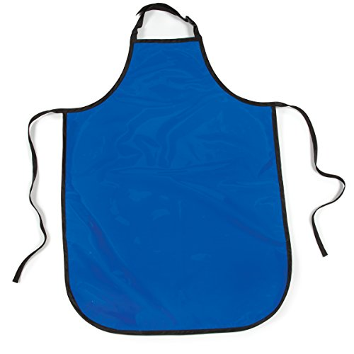 Top Performance Value Grooming Aprons - Economical Vinyl-Coated Aprons for Professional and Amateur Groomers, Blue