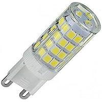 Lâmpada LED Halopin Para Lustres E Arandelas G9 5W Bivolt (Luz 3000K (Branco Quente))