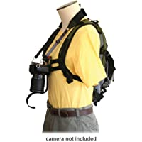 Keyhole Hands Free Camera Harness, Black