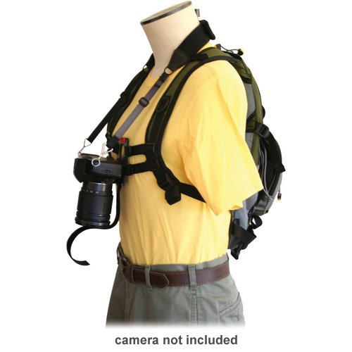 KEYHOLE Hands Free Camera Harness, Black