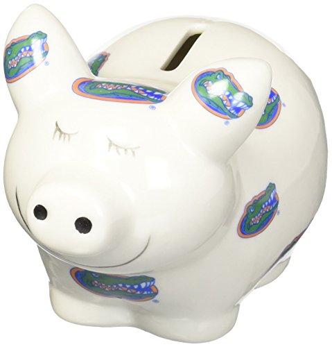 NCAA Florida Gators Piggy Bank with All Over Logo