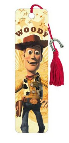Toy Story Woody Movie Character Bookmark