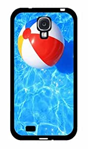 Beach Ball in Pool - Case Back Cover (Galaxy S4 - Plastic)