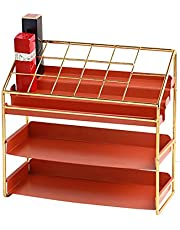 Lipstick Organizers and Storage, Lipstick Holder and Cosmetics Storage Display for Lipstick Brushes Bottles and More