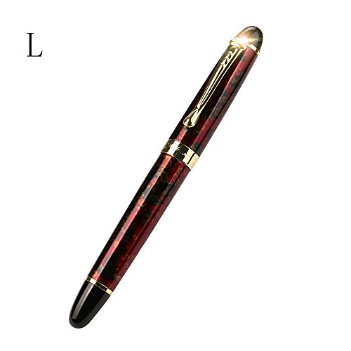 X750 Deluxe Fountain Pen -Gbell Matte JinHao 0.5mm Extra Fine Nib Fountain Pen by Gbell  (Image #2)