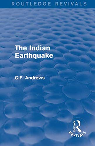 Download Routledge Revivals: The Indian Earthquake (1935) PDF