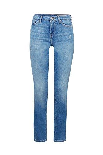 Straight Wash 902 Vaqueros Blue Esprit Medium para Mujer Azul 5R00Zwq