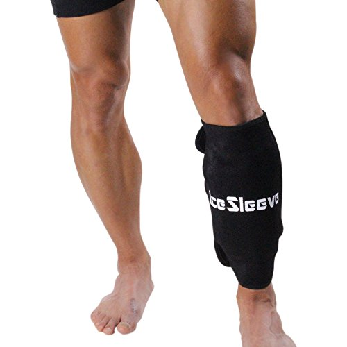 IceSleeve Calf/Shin Cold Pack, Black