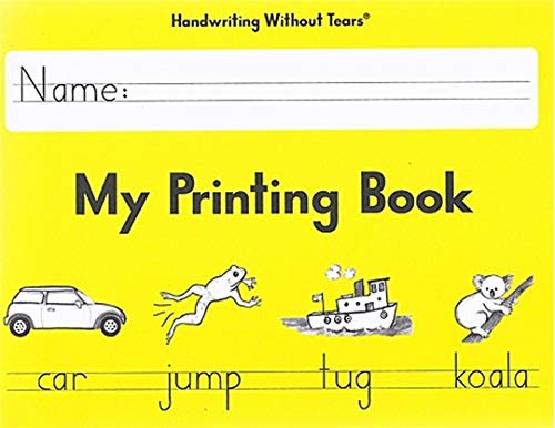 Handwriting Without Tears My Printing Book - Grade 1 (Printing From My Kind)