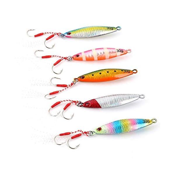 5 pz esche da pesca esche esche molli esche da pesca esca artificiale 7.5 cm