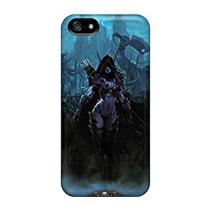 Shock Absorption Hard Phone Covers For Iphone 5/5s With Provide Private Custom Trendy World Of Warcraft Image JasonPelletier