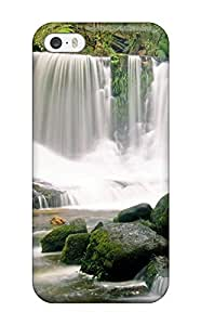 Premium Falls Back Cover Snap On Case For Iphone 5/5s