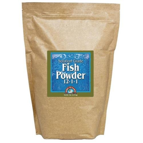 - Down To Earth All Natural Fertilizers GL56723710 12115 Down to Earth Fish Powder Fertilizer, 5 lb