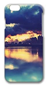 Apocalyptic Sunset Custom iphone 6 plus 5.5 inch Case Cover Polycarbonate 3D