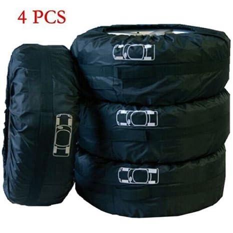 c887b6d09b Amazon.com  4 Pcs Car Spare Tire Storage Protection Bag 13