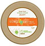 World Centric Compostable Unbleached Plant Fiber Clamshell