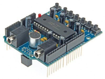 Velleman KA02 Audio Shield for Arduino Kit, 1 Grade to 12 Grade, 2.79