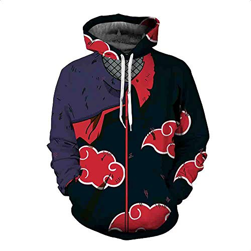 EnjoyYourLife Naruto Hoodie Coat Sweatshirts Kakashi Akatsuki Sasuke  O Brien 3D Hoodies Pullovers Men Women Long Sleeve Outerwear Hoodie Cosplay  Streetwear ... 0ac12a289