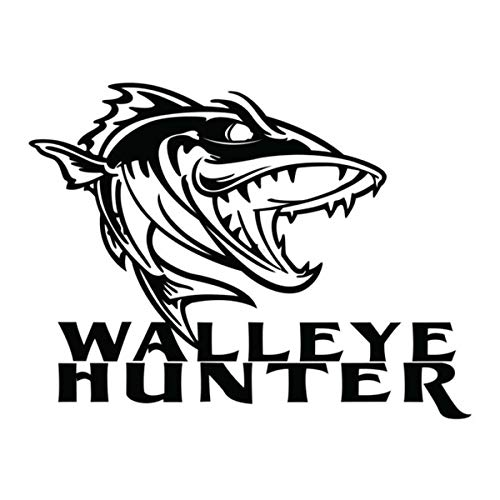 Walleye Decal Walleye Fishing Decal Walleye Sticker Decal Fish Sticker 7121 by waterfowldecals
