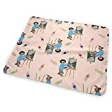 """Bob Sloth Portable Waterproof Baby Changing Pad Diaper Large Size (25.5""""x31.5"""") for Girls"""