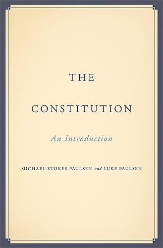 Image of The Constitution: An Introduction