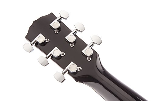 fender fa 100 dreadnought acoustic guitar with gig bag natural buy online in uae musical. Black Bedroom Furniture Sets. Home Design Ideas