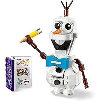 LEGO Disney Frozen II Olaf 41169 Olaf Snowman Toy Figure Building Kit Christmas Gift (122 Pieces): Toys & Games